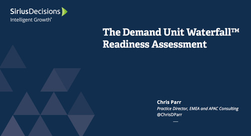 Demand Unit Waterfall Readiness Assessment Webcast Replay