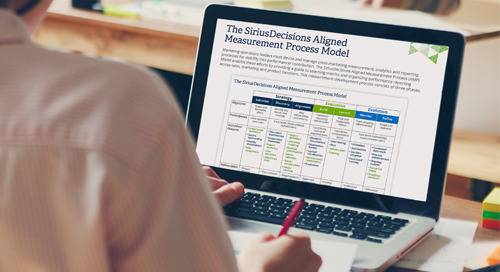 The SiriusDecisions Aligned Measurement Process Model