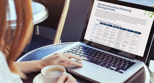 The SiriusDecisions Marketing Planning Process