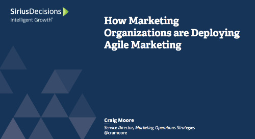 Agile Marketing: How Marketing Organizations Are Deploying Agile Marketing Webcast Replay