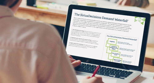 The SiriusDecisions Demand Waterfall® Overview