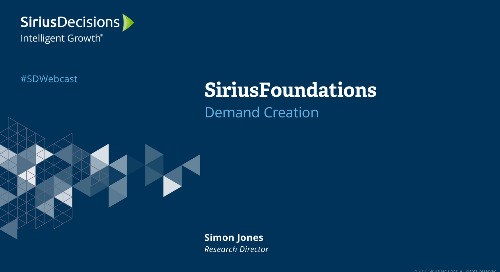 SiriusFoundations: Demand Creation Webcast Replay