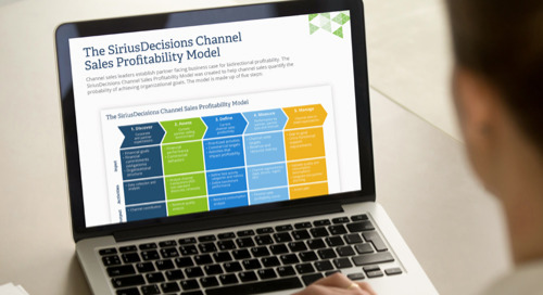 The SiriusDecisions Channel Sales Profitability Model