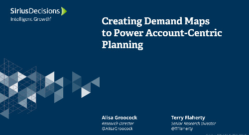 Creating Demand Maps to Power Account-Centric Planning Webcast Replay