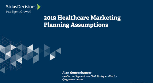 2019 Planning Assumptions: Healthcare Leaders Webcast Replay