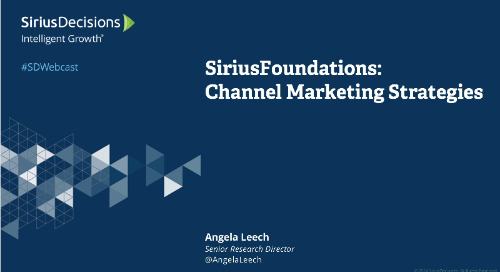 SiriusFoundations: Channel Marketing Webcast Replay