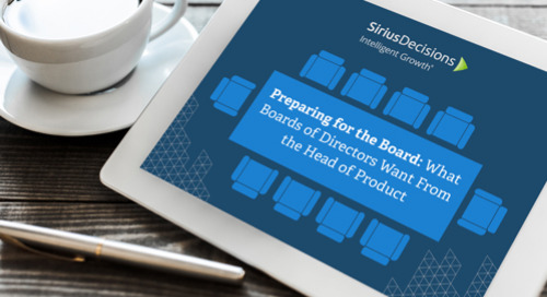 What Boards of Directors Want From the Head of Product