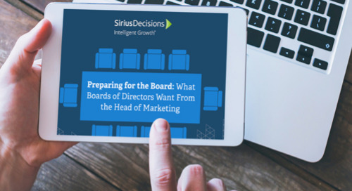 What Boards of Directors Want From the Head of Marketing
