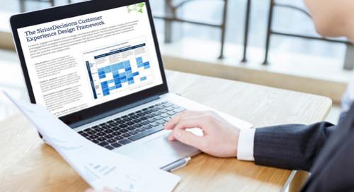 The SiriusDecisions Customer Experience Design Framework