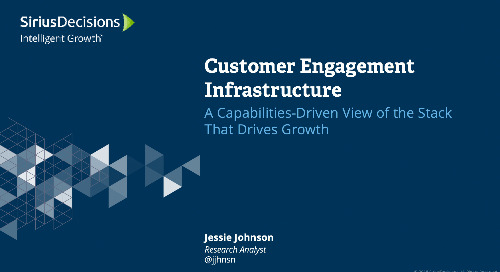 Customer Engagement Infrastructure: A Capabilities-Driven View of the Stack That Drives Growth Webcast Replay