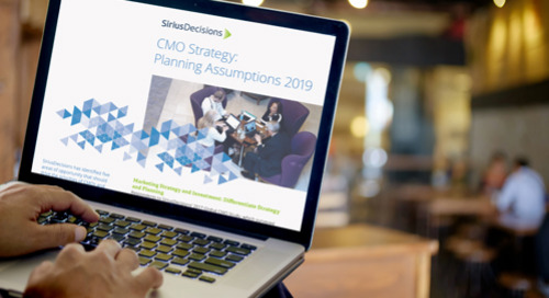 CMO Strategy Planning Assumptions Guide 2019
