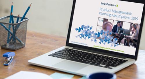 Product Management Planning Assumptions Guide 2019