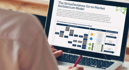 The SiriusDecisions Go-to-Market Architecture Model