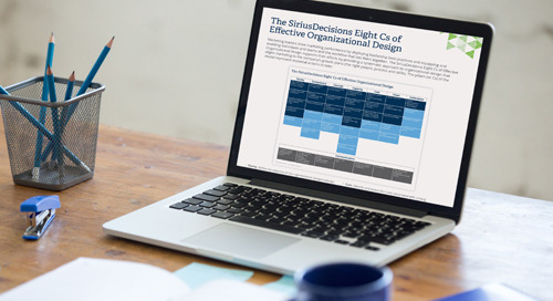 The SiriusDecisions Eight Cs of Effective Organizational Design