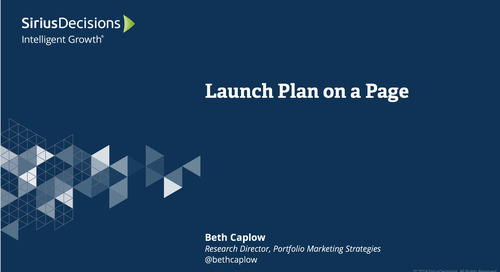 Launch Plan on a Page Webcast Replay