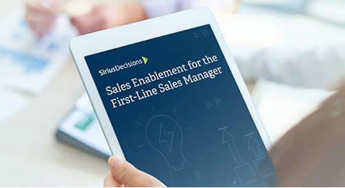 Sales Enablement for the First-Line Sales Manager (Results from Our 2018 North America Sales Talent Study)