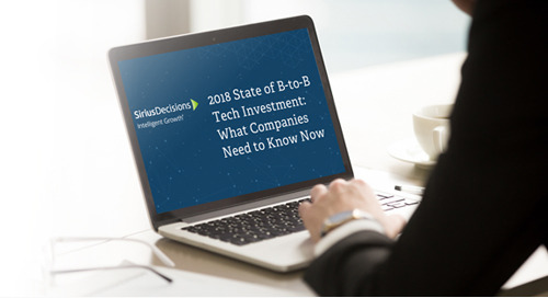 2018 State of B2B Tech Investment: What Companies Need to Know Now