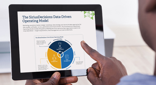 The SiriusDecisions Data-Driven Operating Model