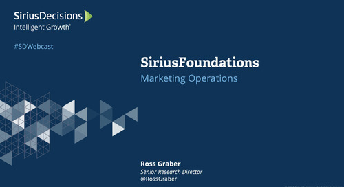 SiriusFoundations: Marketing Strategy & Operations Webcast Replay