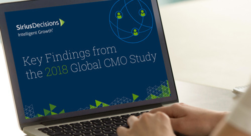 Key Findings from the 2018 CMO Global Study