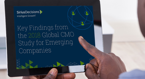 Key Findings from the 2018 Global CMO Study for Emerging Companies