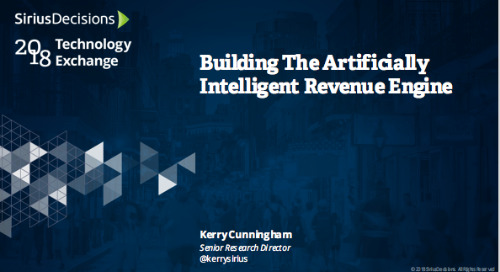 Building the (Artificially) Intelligent Revenue Engine Webcast Replay