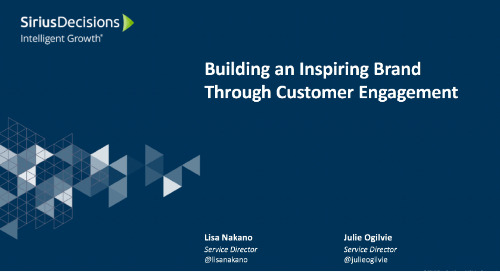 Building an Inspiring Brand Through Customer Engagement
