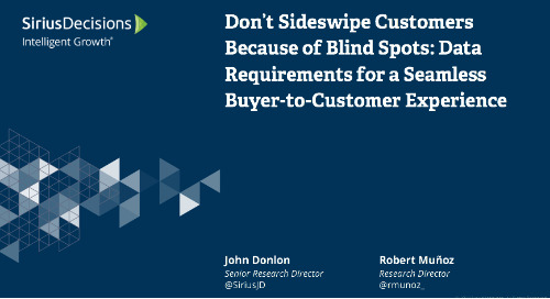 Don't Sideswipe Customers Because of Blind Spots Webcast Replay