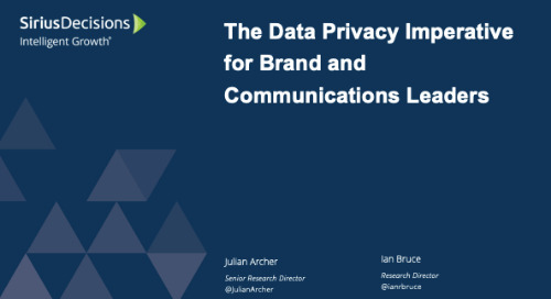 The Implications of Data Privacy Regulations for Brand and Communications Leaders Webcast Replay