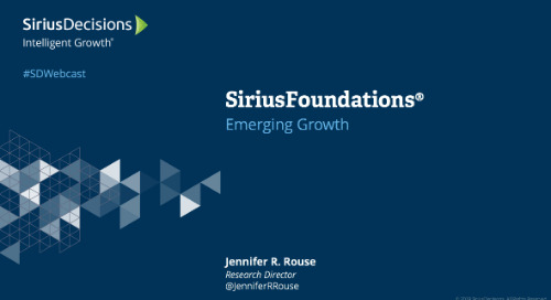 SiriusFoundations: Emerging Growth Webcast Replay