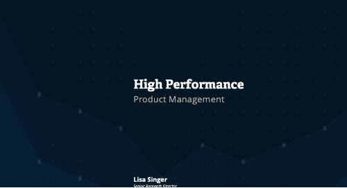 High Performance: Product Management Webcast Replay