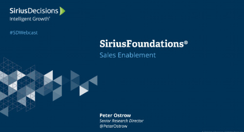 SiriusFoundations: Sales Enablement Webcast Replay
