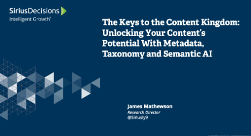 The Keys to the Content Kingdom: Unlocking Your Content's Potential with Metadata, Taxonomy and Semantic AI Webcast Replay