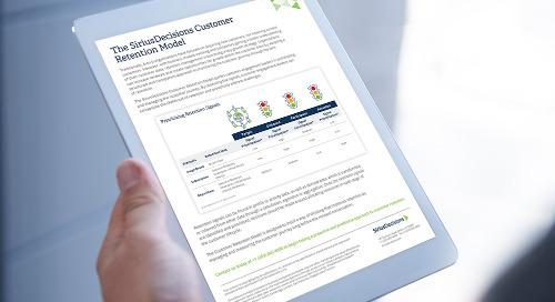 The SiriusDecisions Customer Retention Model