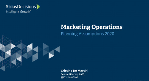 Marketing Operations: Planning 2020 Webcast Replay