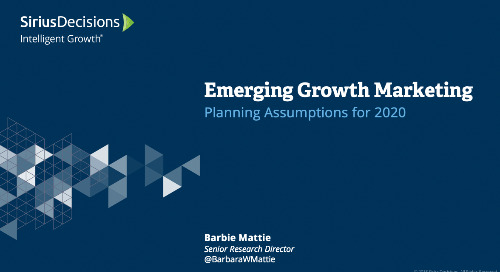Emerging Growth: Planning 2020 Webcast Replay