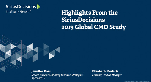 CMO Study Webcast Replay