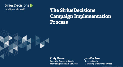 Campaign Planning and Implementation Webcast Replay