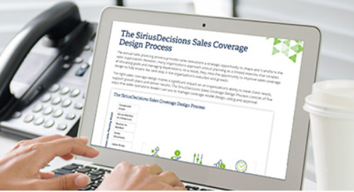 The SiriusDecisions Sales Coverage Design Process