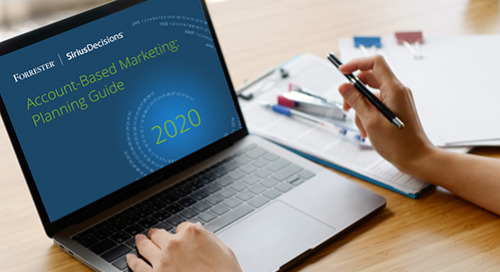 Account-Based Marketing: Planning Guide 2020