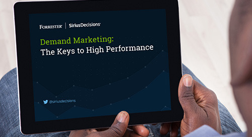 Demand Marketing: The Keys to High Performance