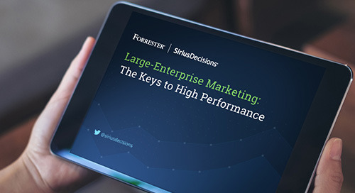 Large-Enterprise Marketing Leaders: The Keys to High Performance
