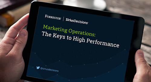 Marketing Operations: The Keys to High Performance