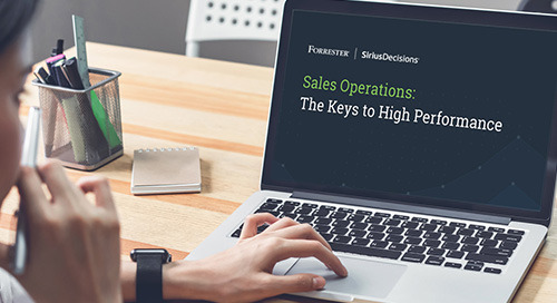 Sales Operations: The Keys to High Performance