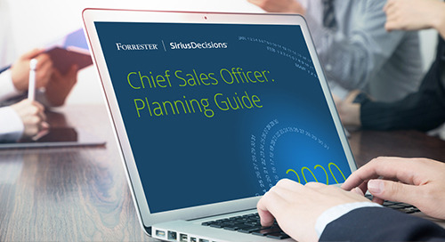 Chief Sales Officers: Planning Guide 2020