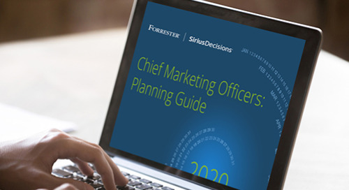 Chief Marketing Officers: Planning Guide 2020