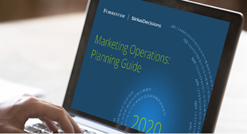 Marketing Operations: Planning Guide 2020