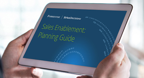 Sales Enablement: Planning Guide 2020