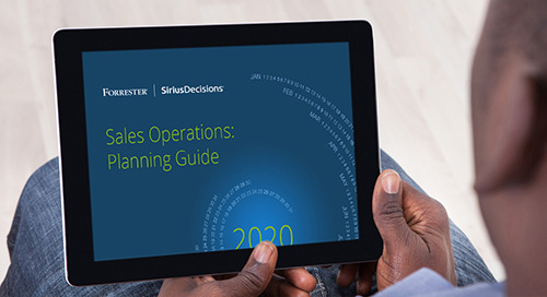 Sales Operations: Planning Guide 2020