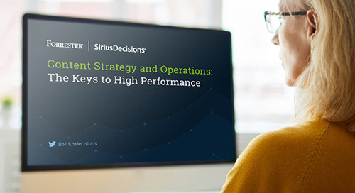 Content Strategy and Operations: The Keys to High Performance